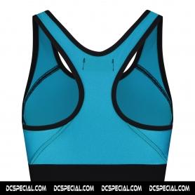 Australian Dames Sporttop 'Glossy Girl Turquoise'