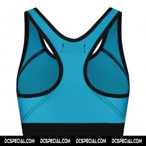 Australian Sport Top Pour Femmes  'Glossy Girl Turquoise'
