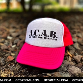 ACAB Cap 'ACAB Basic Neon Pink'