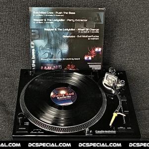 Dutchbad Records Vinyl 'Chapter 2 - Wapper, The Ladykiller & Delanoize – Push The Bass E.P.'