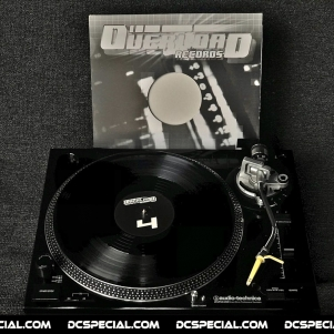 Overload Records Vinyl 'OR004 - DJ Partyraiser & DJ T.I.M. – We All Stand Together'