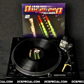 Overload Records Vinyl 'OR002 - DJ Endonyx & Re-Style – Wack Ass MF's'