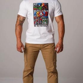 PGwear T-shirt 'We're Football White'