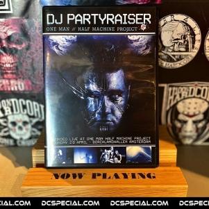 Partyraiser DVD 'DJ Partyraiser – One Man // Half Machine Project 2'