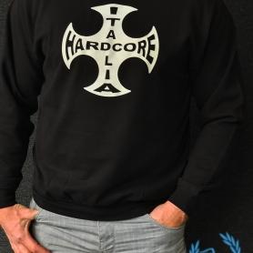 Hardcore Sweater 'Spacetrip - Hardcore Italia Cross'