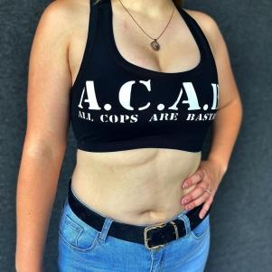 ACAB Ladies Tanktop 'All Cops Are Bastards'