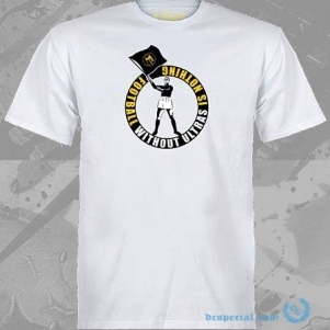 Mentalita Ultras T-shirt 'Waving Flag'